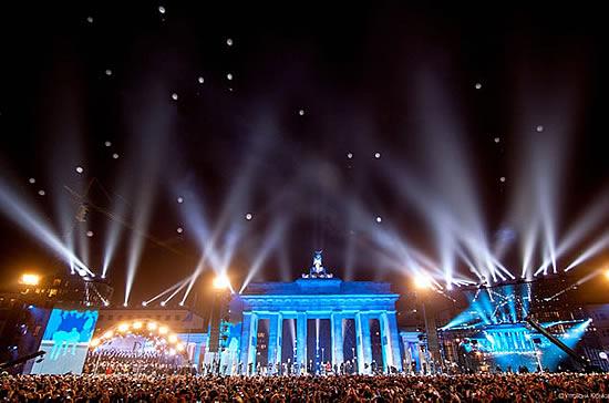 Concert 09 Nov @Brandenburger Tor